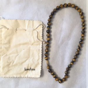 Tigers Eye Beaded Necklace.